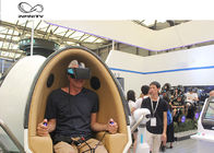 Amusement Park 9D Virtual Reality Simulator / Double Seats VR Egg Cinema