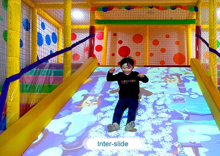 Interactive floor game projector interactive projection wall children game machine fornitore