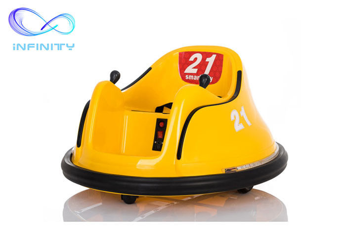 Yellow Commercial PP Plastic Children Bumper Car